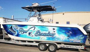 Boat Wraps custom boat wrap graphics vinyl boat wrap 300x173